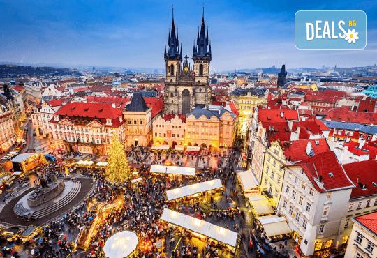 Коледна магия в Будапеща, Виена и Прага! 5 нощувки със закуски, транспорт, водач и възможност за посещение на Дрезден! - Снимка 1