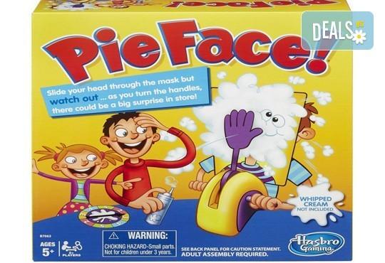 Забавление за малчуганите! Занимателна игра за деца Пай в лицето от Podobro.com! - Снимка 1