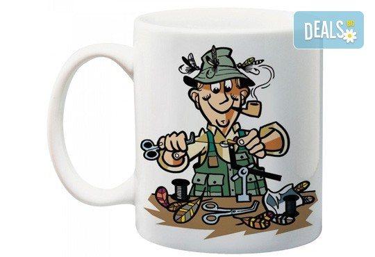 Подарете за предстоящите празници! Чаша за имен ден с дизайн на клиента от Podobro.com! - Снимка 5