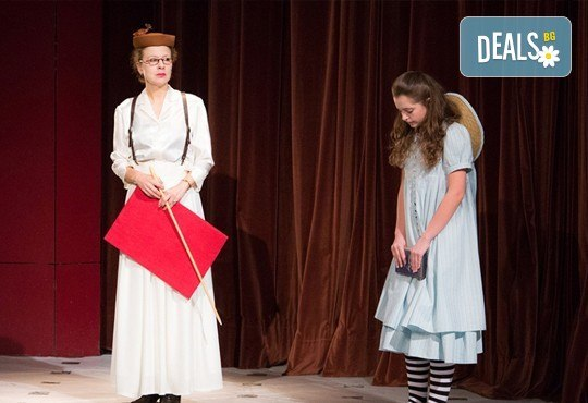 На театър с децата! Гледайте Алиса в страната на чудесата на 22.12. от 11 ч. в Младежки театър, голяма сцена! 1 билет - Снимка 9