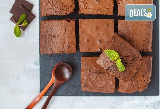 Почерпете със стил! 1 кг. вкусно брауни на хапки от H&D catering! - Снимка 1