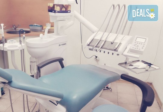 Преглед с интраорална камера, почистване на зъбен камък с ултразвук и полиране на зъби с Airflow от д-р Ценка Доганова! - Снимка 3
