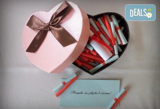"""Романтичен подарък за любимия човек! Вземете луксозен комплект игра за двойки """"52 седмици Любов"""" от Just Love Day! - Снимка 1"""