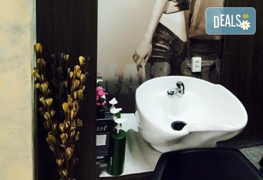 Професионална терапия за изтощени коси с Keune, серия Care, маска с ултразвук и инфрачервена преса и оформяне на прическа със сешоар в Салон Incanto dream! - Снимка 5