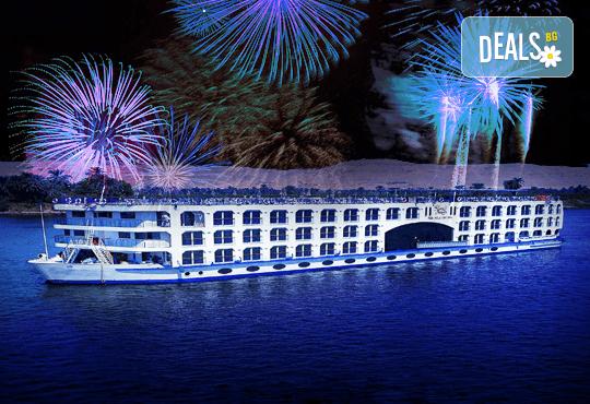 Нова Година в Египет, с Дрийм Холидейс! Самолетен билет, трансфери, 3 нощувки на база All Inclusive в Хургада, 3 на круизен кораб 5*, Гала вечеря на борда на круизния кораб - Снимка 1
