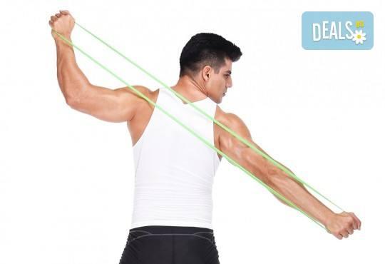 Тренирайте без ограничения! 5 броя ластици за фитнес, йога, пилатес или кросфит от Ай Пи Джи Трейд! - Снимка 2