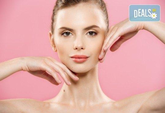 Безиглено уголемяване на устни или попълване на бръчки чрез ултразвук със 100% хиалуронова киселина - 1 или 5 процедури, в салон за красота Алма Морел - Снимка 2