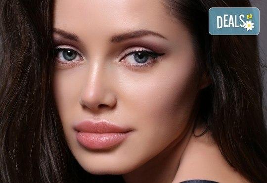 Безиглено уголемяване на устни или попълване на бръчки чрез ултразвук със 100% хиалуронова киселина - 1 или 5 процедури, в салон за красота Алма Морел - Снимка 3