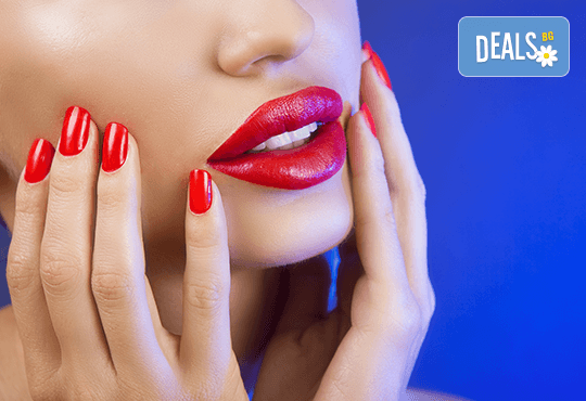 Безиглено уголемяване на устни или попълване на бръчки чрез ултразвук със 100% хиалуронова киселина - 1 или 5 процедури, в салон за красота Алма Морел - Снимка 1