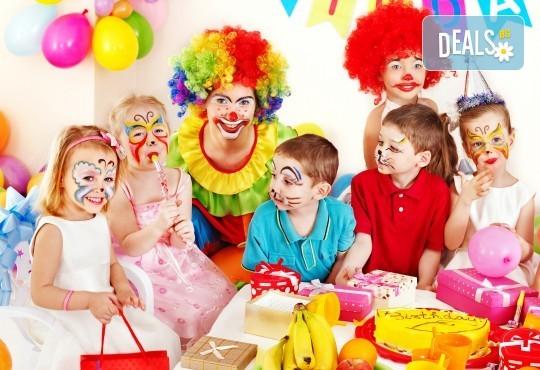 Детски 2-часов рожден ден през уикенда за 10 деца с включена зала + аниматор, музика, игри, рисуване на лице и меню по избор в Dance Center Fantasia! - Снимка 3