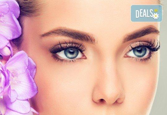 Сексапилен поглед! Поставяне на копринени мигли по избор в V&A Glamour Beauty Salon! - Снимка 4