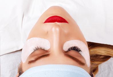Сексапилен поглед! Поставяне на копринени мигли по избор в V&A Glamour Beauty Salon! - Снимка
