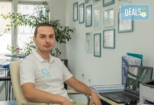 Красива усмивка! Почистване на зъбен камък с ултразвуков скалер в дентален кабинет д-р Чорбаджаков - жк Дружба - Снимка 3