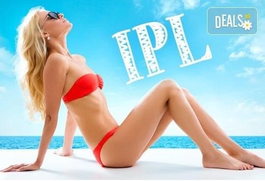 1 процедура IPL фотоепилация на цяло тяло - 12 зони за жени, Орхидея