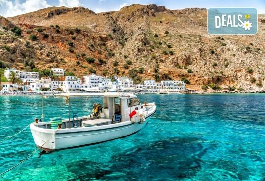Почивка на о. Крит със Z Tour! Ранни резервации за 2019-та със 7 нощувки със закуски и вечери, самолетен билет, застраховка, летищни такси - Снимка 1