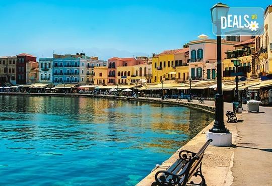 Почивка на о. Крит със Z Tour! Ранни резервации за 2019-та: 4 нощувки със закуски и вечери, самолетен билет, застраховка, летищни такси, трансфери - Снимка 1