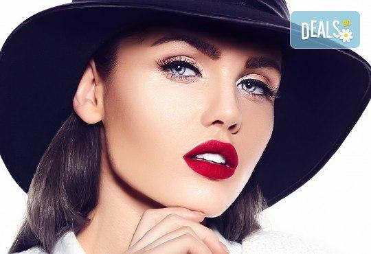 Перманентен грим - очна линия на горен или долен клепач, с гарантиран дълготраен ефект от Beauty center D&M! - Снимка 1