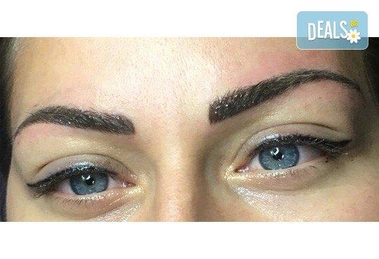 Перманентен грим - очна линия на горен или долен клепач, с гарантиран дълготраен ефект от Beauty center D&M! - Снимка 3