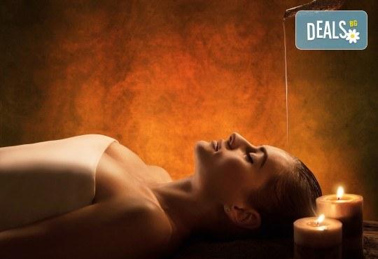 СПА пакет Шест чувства! Ароматерапевтичен масаж на цяло тяло, Hot Stone терапия, аюрведична процедура с топли масла и аюрведичен масала чай в център GreenHealth! - Снимка 1