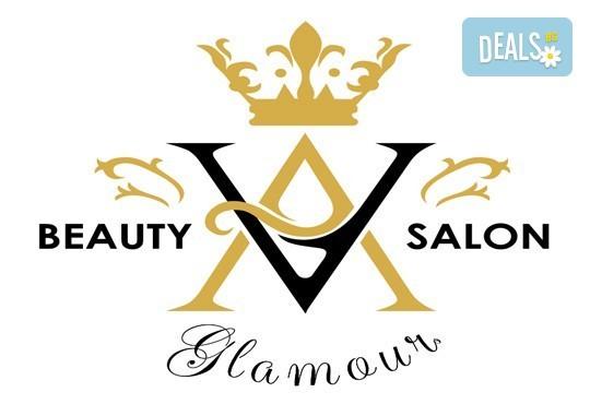 Масажно измиване с професионални продукти на Wella, нанасяне на маска, оформяне на прическа със сешоар или преса и стилизиране във V&A Glamour Beauty Salon! - Снимка 6