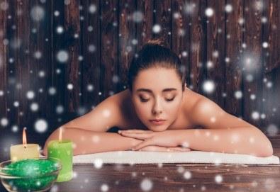 Терапия за цяло тяло Енергия от Изтока - съчетание от шиацу, тайландски масаж, индийски масаж, ломи-ломи, юмейхо, китайска акупресура и мокса терапия, в Студио за красота Juliet Marten! - Снимка