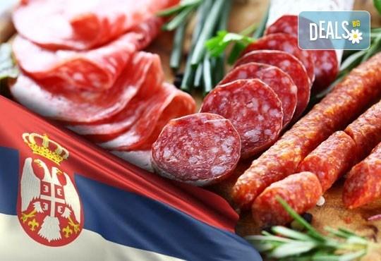 Екскурзия за Фестивала на пегланата колбасица в Пирот, Сърбия! 1 нощувка със закуска в Хотел Gali, вечеря с жива музика и напитки, транспорт и водач от ТА Поход - Снимка 1