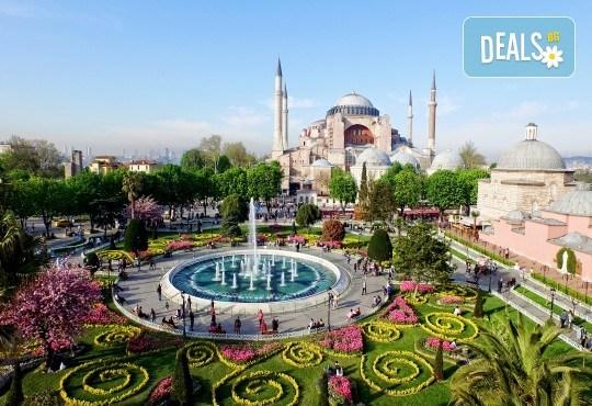 Коледни отстъпки за ранни записвания за Фестивала на лалетата 2019 в Истанбул, със Запрянов Травел! 2 нощувки със закуски, транспорт и посещение на Одрин - Снимка 1