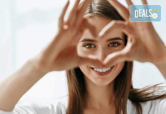 Хиалуронова или колагенова антиейдж терапия на околоочен контур с професионална био козметика на Dr. Spiller в козметично студио Beauty! - Снимка 3
