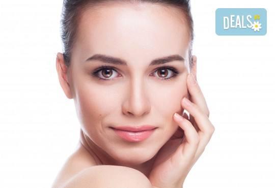 Терапия на околоочен контур с козметика на Dr. Spiller в козметично студио Beauty