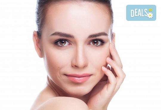 Хиалуронова или колагенова антиейдж терапия на околоочен контур с професионална био козметика на Dr. Spiller в козметично студио Beauty! - Снимка 1