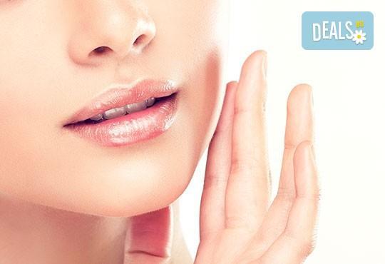 Лазерна епилация с високоефективен диоден лазер за жени на горна устна или брадичка в Изабел Дюпонт Beauty Studio! - Снимка 1