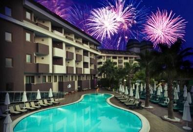 Супер оферта за Нова година в Primasol Hane Family 4*, Сиде! 4 нощувки на база All Inclusive, Новогодишна Гала вечеря, самолетен билет и трансфери! - Снимка