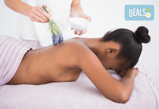 60 мин. успокояващ масаж с лавандула на цяло тяло, в масажно студио REVIVE - Снимка 3