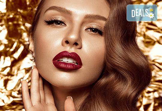 Професионален грим с висококласна професионална козметика MAC, Revlon, Inglot, NSB и Lollipop cosmetics от сертифициран грим-майстор на Соларно студио Какао! - Снимка 1