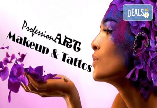 Професионален грим с висококласна професионална козметика MAC, Revlon, Inglot, NSB и Lollipop cosmetics от сертифициран грим-майстор на Соларно студио Какао! - Снимка 6