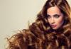 Консултация със специалист и терапия против омазняване на косата + трайно къдрене по желание и оформяне на прическа във фризьоро-козметичен салон Вили! - thumb 2
