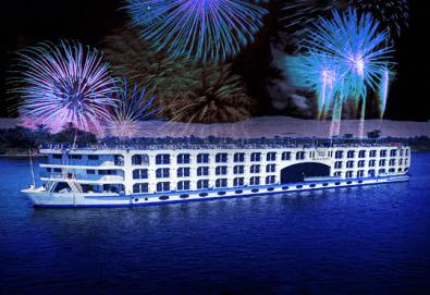 Last minute! Нова Година в Египет на круизен кораб 5* с Дрийм Холидейс! 6 нощувки All Inclusive в Хургада и на круизен кораб, Гала вечеря, самолетен билет, трансфери - Снимка