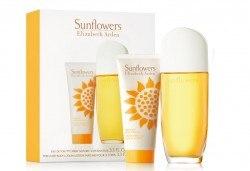 Насладете се на чувствения аромат Elizabeth Arden Sunflowers - тоалетна вода и луксозен лосион за тяло, с безплатна доставка за цялата страна! - Снимка
