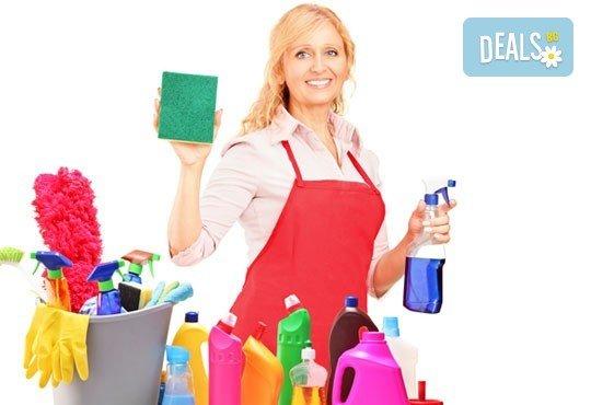 Основно, еднократно почистване на дом или офис до 120 кв.м. от Професионално почистване Диана Стил! - Снимка 2