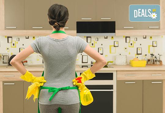 Основно, еднократно почистване на дом или офис до 120 кв.м. от Професионално почистване Диана Стил! - Снимка 1