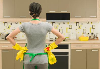 Основно, еднократно почистване на дом или офис до 120 кв.м. от Професионално почистване Диана Стил! - Снимка