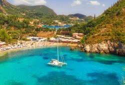 Ранни записвания за почивка на прелестния остров Корфу през 2019-та - 4 нощувки на база All Inclusive, транспорт и посещение на двореца Ахилион! - Снимка