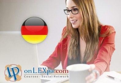Курс по немски език на А1 и А2 и/или В1 с текстови, аудио материали и достъп до Online тетрадка от onlexpa.com! - Снимка