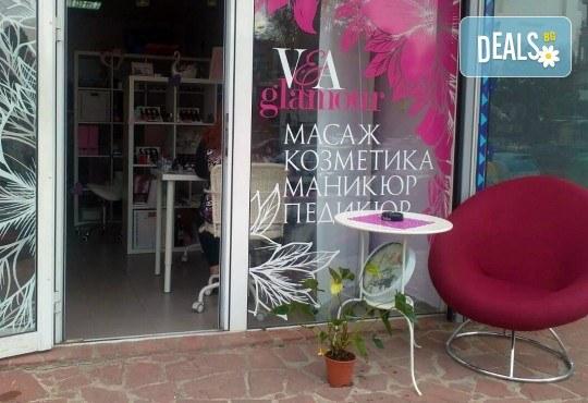 Красиви цветове и дълготрайност с маникюр с гел лак на Bluesky и Veanail с до 4 декорации от V and A Glamour! - Снимка 8
