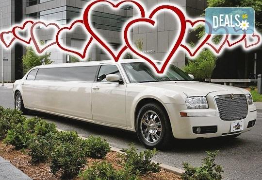 Романтично пътуване! Предложение за брак в луксозна лимузина от San