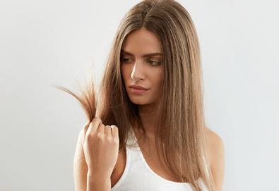 Подстригване, терапия по избор: подхранваща, ботокс или за запазване на цвета, и оформяне на прическа със сешоар в салон за красота Дамалия! - Снимка