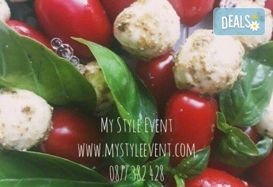 За Вашето парти! Вземете 120 броя вкусни коктейлни хапки и тарталети от My Style Event! - Снимка 9