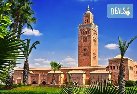 Екскурзия до страната на чудесата - Мароко! 6 нощувки със закуски и вечери в Маракеш, Фес и Рабат, самолетен билет с летищни такси и трансфери и посещение на Казабланка! - Снимка 1