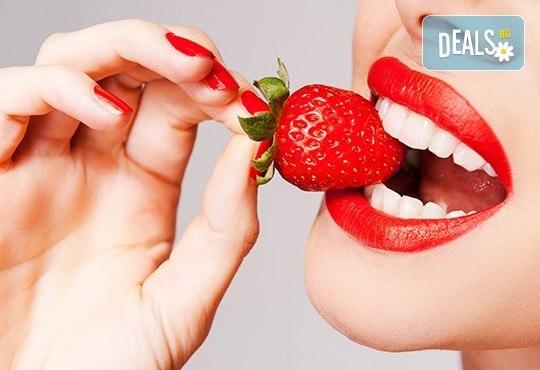 Фотополимерна пломба или почистване на зъбен камък и преглед в Дентална клиника Персенк