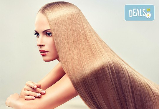 Трайно изправяне на косата с арган във фризьоро-козметичен салон Вили